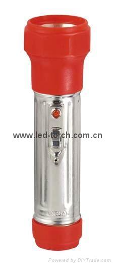 LED鐵塑彩色手電筒 FTJ2DE1C 2