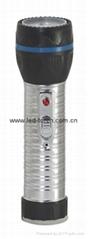 LED鐵塑彩色手電筒 TWJ2DE1