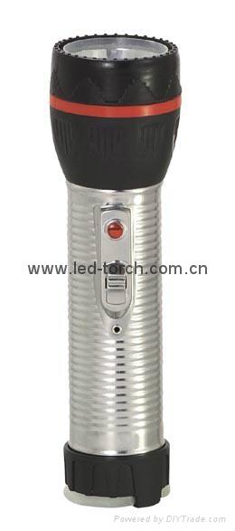 LED鐵塑彩色手電筒 TWJ2DE1 2