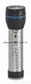 LED Metal/Steel-Plastic Colour Flashlight/Torch TWJ2DE1