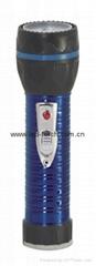 LED鐵塑彩色手電筒 TWJ2DE1E
