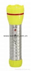 LED鐵塑彩色手電筒 TWA2DE1C