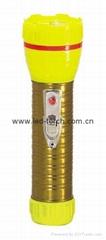 LED鐵塑彩色手電筒 TWA2DE1EC