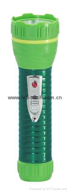 LED鐵塑彩色手電筒 TWA2DE1EC 3
