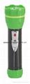 LED Metal/Steel-Plastic Colour Flashlight/Torch TWA2DE1BC