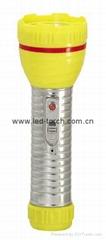 LED鐵塑彩色手電筒 TWA2DE2C
