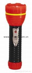 LED鐵塑彩色手電筒 TWA2DE2BC