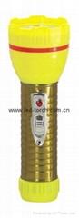 LED鐵塑彩色手電筒 TWA2DE2EC