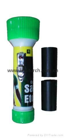 LED彩色塑料手電筒 FTJ2C99E1 1