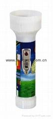 LED彩色塑料手电筒 FTJ99E2