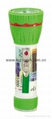 LED彩色塑料手電筒 97A2DE2