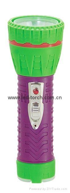 LED彩色塑料手電筒 97A2DE2C 1