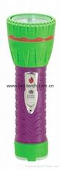 LED彩色塑料手電筒 97A2DE2C