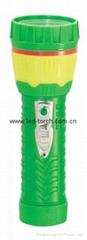 LED彩色塑料手電筒 97B2DE2S