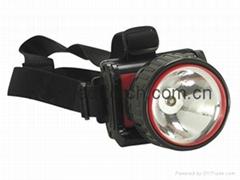 ED Plastic Headlamp/Headlight HL-101(1LED)
