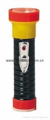 LED鐵塑彩色手電筒 TWB2DE1BC