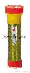 LED鐵塑彩色手電筒 TWB2DE1EC