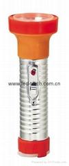 LED鐵塑彩色手電筒 TWB2DE2C