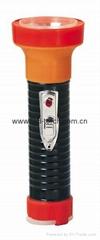 LED鐵塑彩色手電筒 TWB2DE2BC