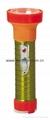 LED Metal/Steel-Plastic Colour Flashlight/Torch TWB2DE2EC