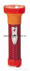 LED鐵塑彩色手電筒 TWB2DE2EC