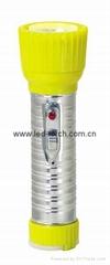 LED鐵塑彩色手電筒 TWD2DE1C