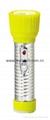 LED Metal/Steel-Plastic Colour Flashlight/Torch TWD2DE1C