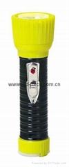 LED鐵塑彩色手電筒 TWD2DE1BC