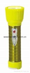 LED鐵塑彩色手電筒 TWD2DE1EC