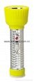 LED Metal/Steel-Plastic Colour Flashlight/Torch TWD2DE2C