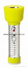 LED鐵塑彩色手電筒 TWD2DE2C