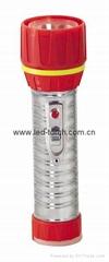 LED鐵塑彩色手電筒 TWC2DE1C