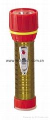 LED鐵塑彩色手電筒 TWC2DE1EC