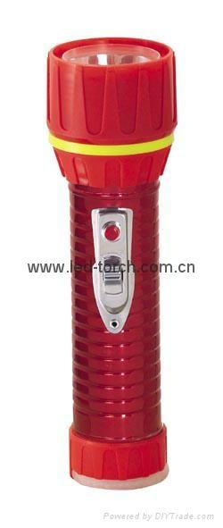 LED鐵塑彩色手電筒 TWC2DE1EC 3
