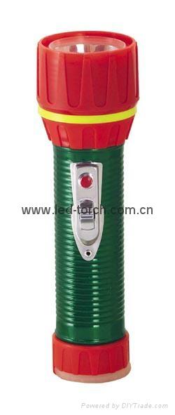 LED鐵塑彩色手電筒 TWC2DE1EC 2