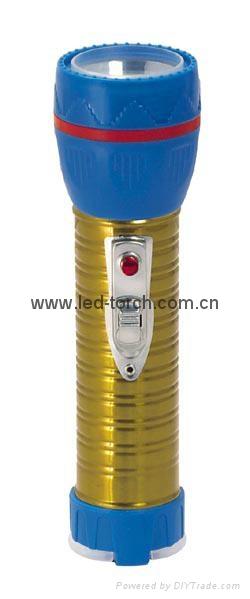 LED鐵塑彩色手電筒 TWJ2DE1EC 2