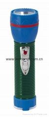 LED鐵塑彩色手電筒 TWJ2DE1EC