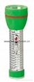 LED Metal/Steel-Plastic Colour Flashlight/Torch TWJ2DE2C