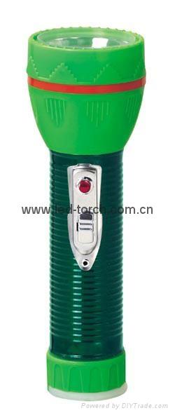 LED鐵塑彩色手電筒 TWJ2DE2EC 2