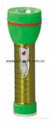 LED鐵塑彩色手電筒 TWJ2DE2EC