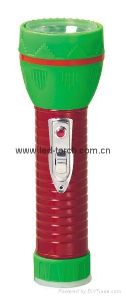 LED鐵塑彩色手電筒 TWJ2DE2EC 3