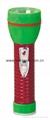 LED Metal/Steel-Plastic Colour Flashlight/Torch TWJ2DE2EC