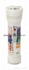 LED彩色塑料手電筒 99B2DE1