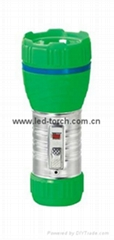 LED鐵塑彩色手電筒 TWA1DE1C
