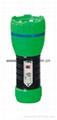LED Metal/Steel-Plastic Colour Flashlight/Torch TWA1DE1BC
