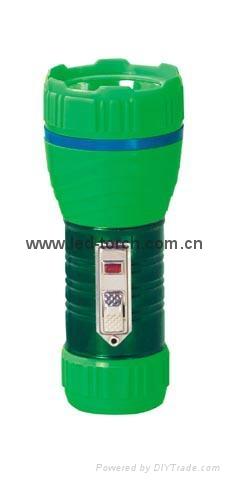 LED鐵塑彩色手電筒 TWA1DE1EC 1
