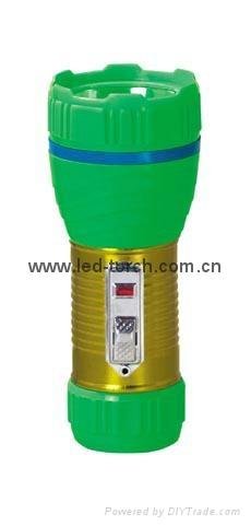 LED鐵塑彩色手電筒 TWA1DE1EC 2