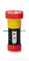 LED Metal/Steel-Plastic Colour Flashlight/Torch TWB1DE1BC