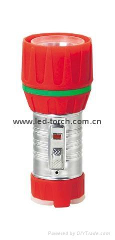 LED鐵塑彩色手電筒 TWC1DE1C 1
