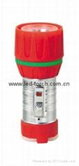 LED鐵塑彩色手電筒 TWC1DE1C